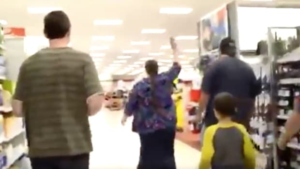 Christian Mom Leads Family In Target Protest (Video) Promo Image
