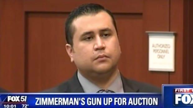 George Zimmerman Auctioning Trayvon Martin Gun (Video) Promo Image