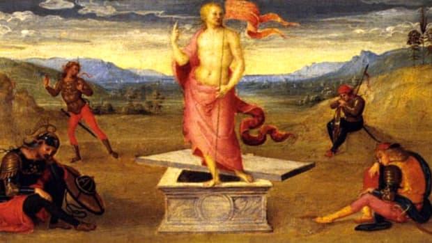 The Resurrection By Pietro Perugino