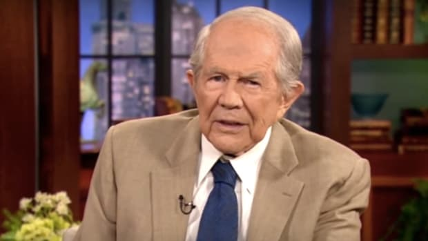 Pat Robertson: Let Non-Working Addicts Starve (Video) Promo Image