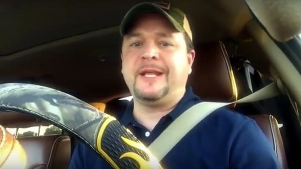 Christian Lawmaker Makes Video While Driving (Video) Promo Image
