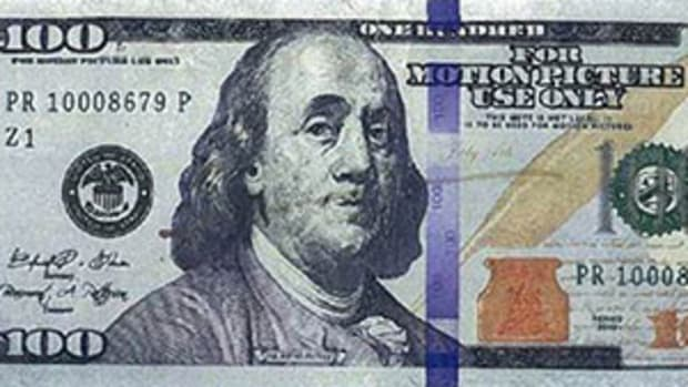 counterfeit bill used by Chelsea Sperry
