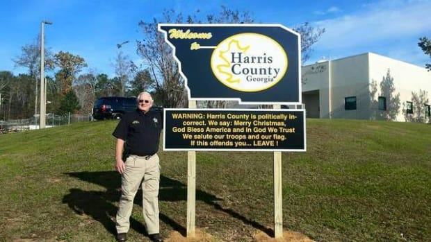 Harris County Sheriff Mike Jolley
