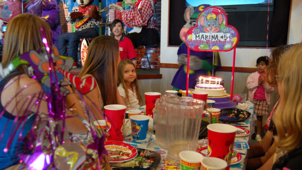 Chuck E. Cheese Birthday