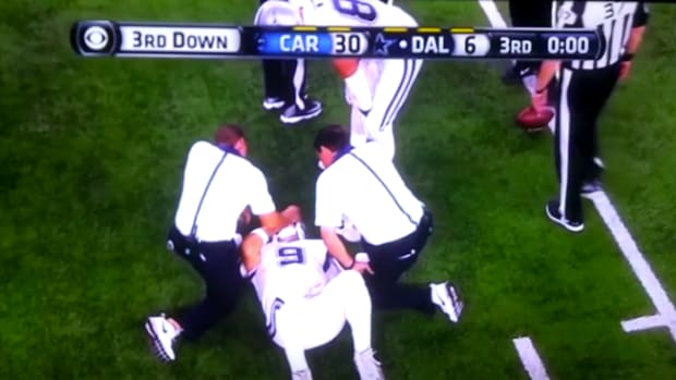Tony Romo Injury
