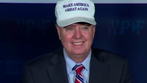 Sen. Graham: 'My Party Has Gone Bats--- Crazy' (Video) Promo Image