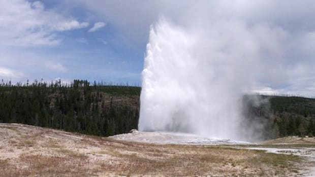 Visitor Goes Around Yellowstone Barrier To Take Closer Look At Hot Spring, Pays The Price Promo Image