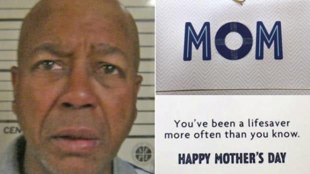 Homeless Man Arrested For Stealing Mother's Day Card Promo Image