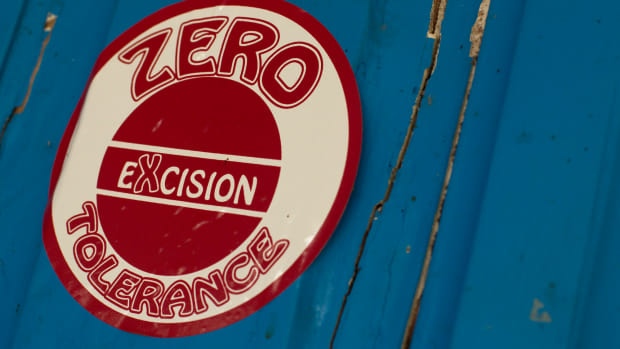 Female Genital Mutilation Zero Tolerance Sticker