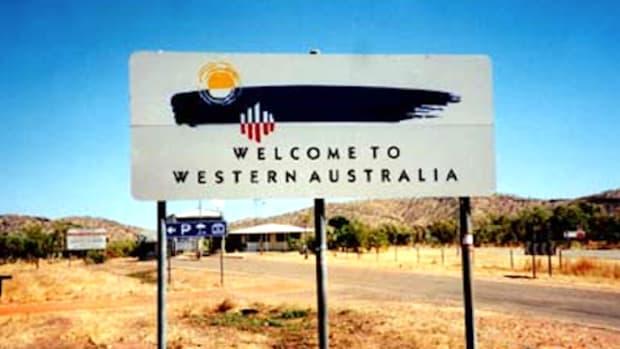 Australia Welcome Sign