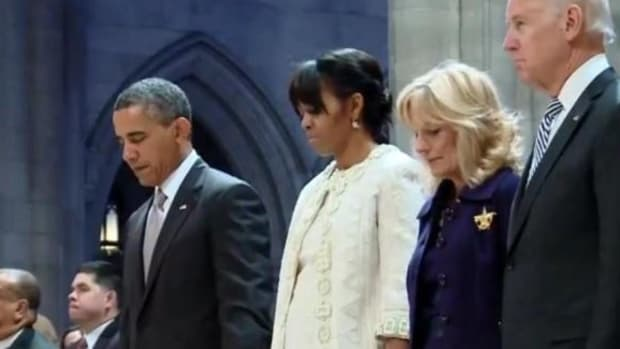 Obama Releases Statement On National Day Of Prayer Promo Image