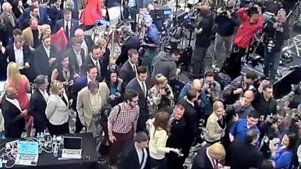 Trump Campaign Manager Arrested For Battery (Video) Promo Image
