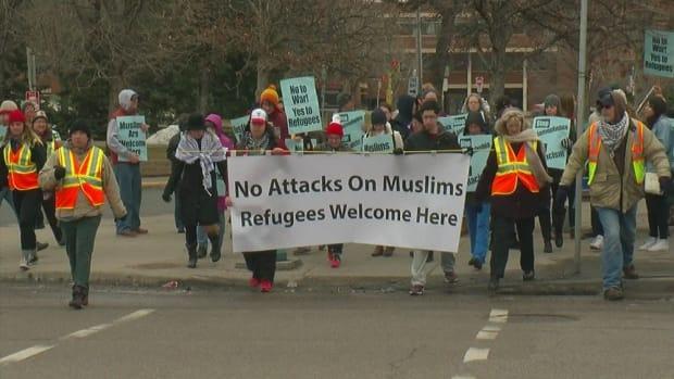 Islamic Group Organizes Protest Against Islamophobia Promo Image