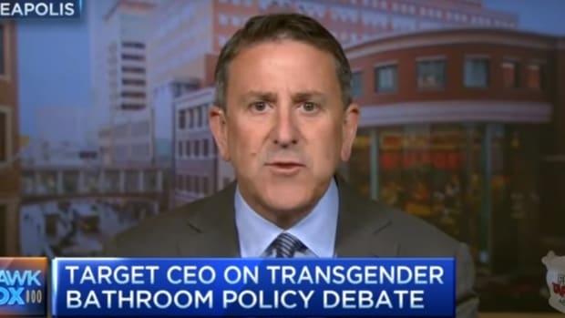 Target CEO Not Backing Down On Bathroom Policy (Video) Promo Image