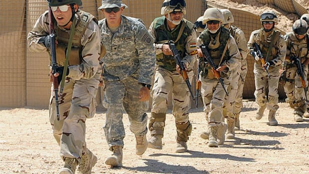 U.S. Troops in Iraq.