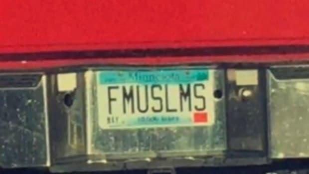 Minnesota Officials Seize 'FMUSLMS' License Plate Promo Image