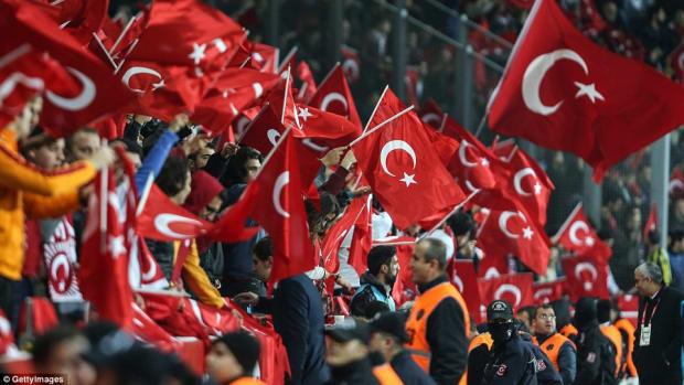 Turkish Soccer Game.