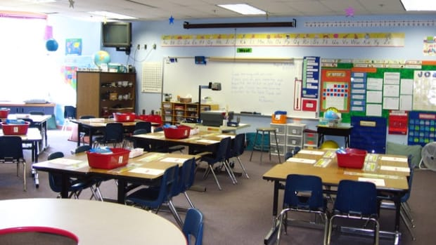A Classroom In an LAUSD School