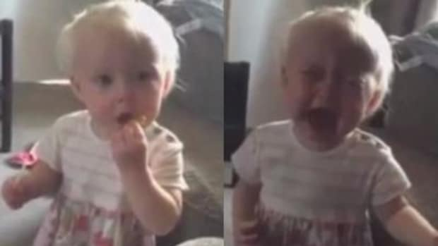 Internet Outraged After Seeing What Mom Fed 16-Month-Old Baby (Video) Promo Image
