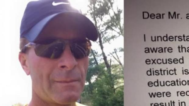 Dad's Response To Principal Over Letter Condemning 'Unexcused' Absence Goes Viral (Photo) Promo Image