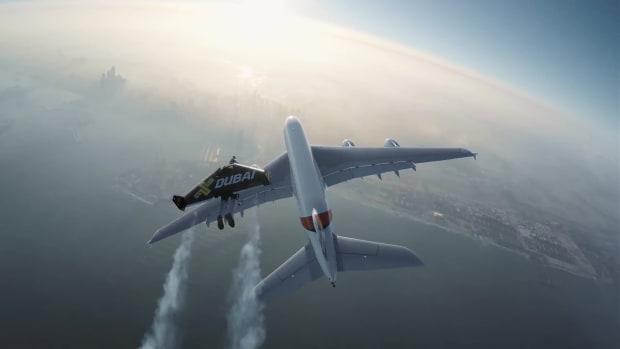 Jetman Emirates Airliner