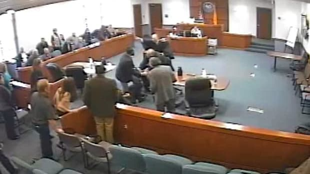 Michael Cox Attacking Scot Key In Court