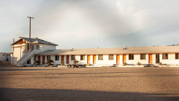 Abandoned Motel In Amboy, California.