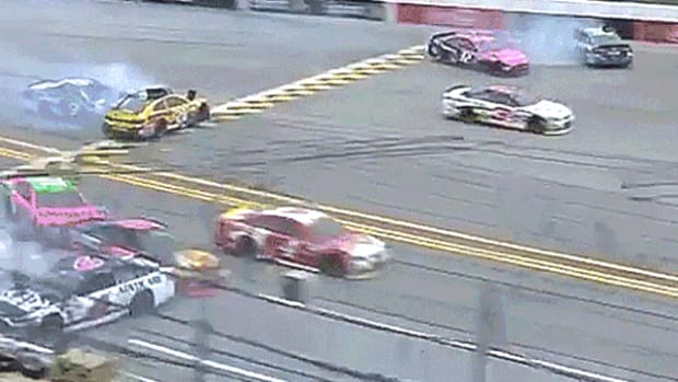 NASCAR Sprint Cup Series Race Crash