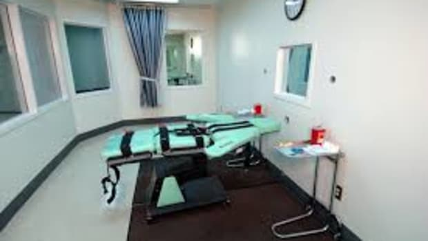 Execution Room at San Quentin Prison