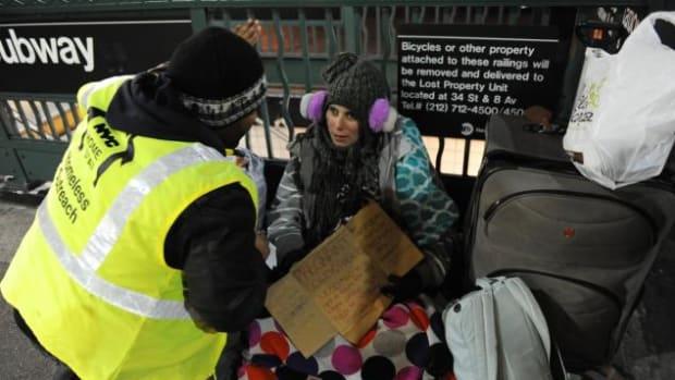 Georgina Buffalino on the streets of New York