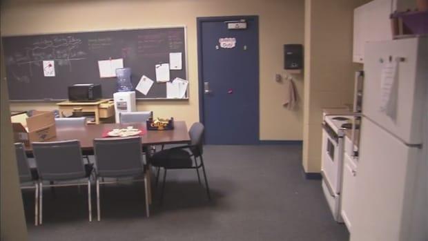 Teachers' Lounge.