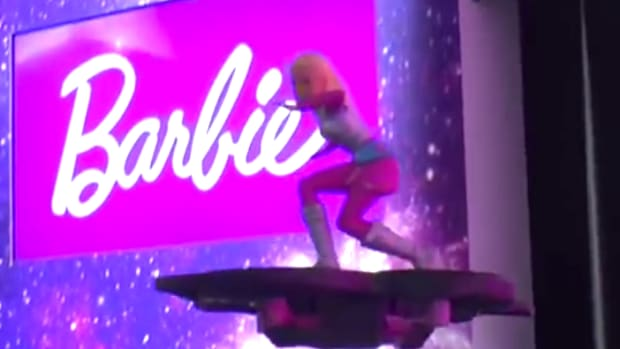 Barbie Star Light Adventure RC Hoverboard