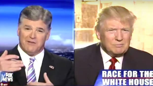 Sean Hannity: 'I'll Be Voting For Donald Trump' (Video) Promo Image