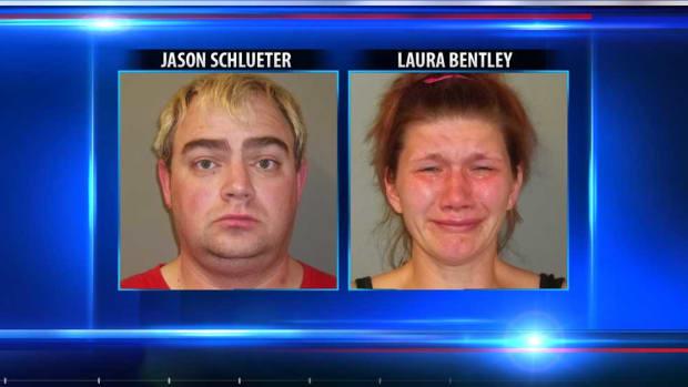 Jason Schlueter and Laura Bentley