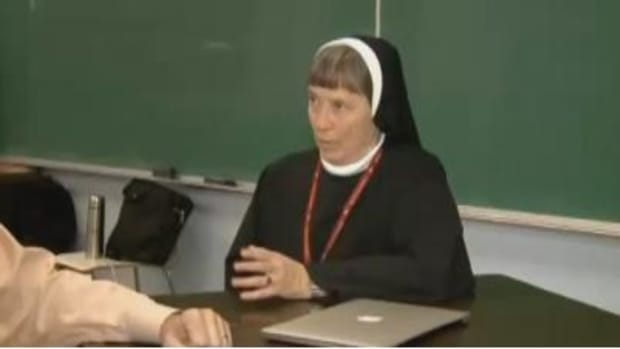 Nun Refuses To Apologize For 'Controversial' Picture, Tells Critics To Get Over It (Photos) Promo Image