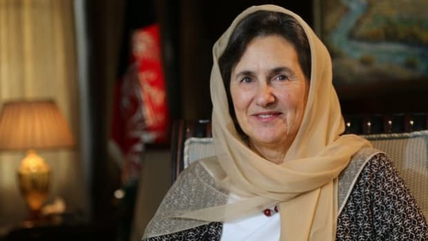 Afghan first lady Rula Ghani.