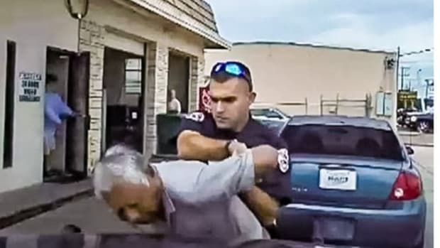 76-Year-Old Tasered By Police Officer For Expired Inspection (Video) Promo Image