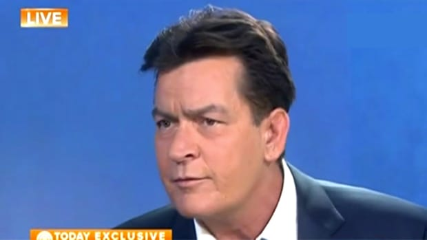 Charlie Sheen HIV Interview.