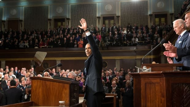 Obama At State Of The Union Address