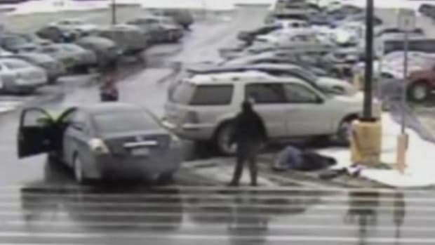 71-Year-Old Woman's Walmart Parking Lot Encounter Goes Viral (Video) Promo Image