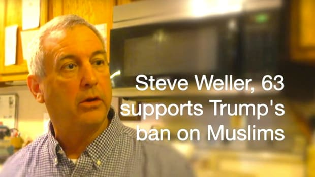Trump Supporter Meets Syrian Muslim Refugee (Video) Promo Image