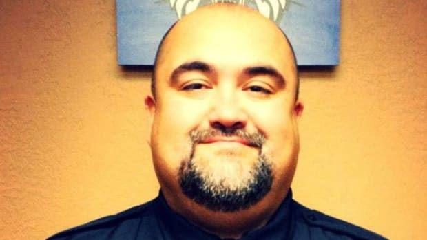 Childress Police Chief Adrian Garcia.