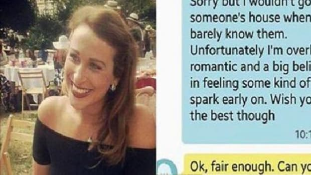 Man's Text Message To Young Woman After She Turned Second Date Goes Viral (Photo) Promo Image