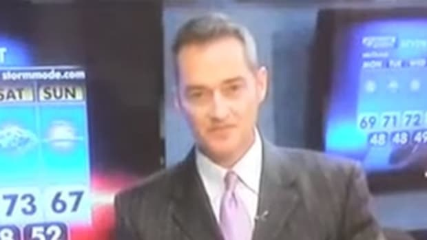 Weatherman Makes Awkward Sex Joke During Broadcast (Video) Promo Image