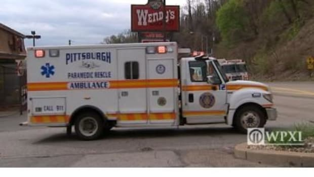 Woman Suffers Stomach Pains At Wendy's, Emergency Responders Quickly Diagnose The Problem Promo Image