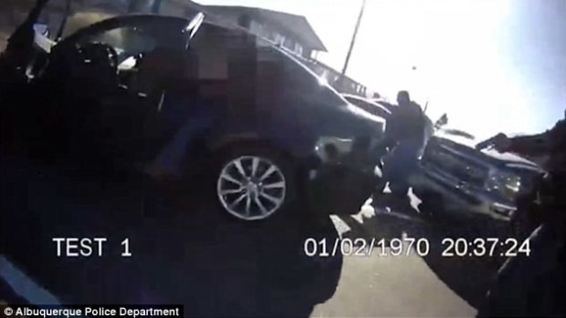 Cop Accidentally Shoots Undercover Officer (Video) Promo Image