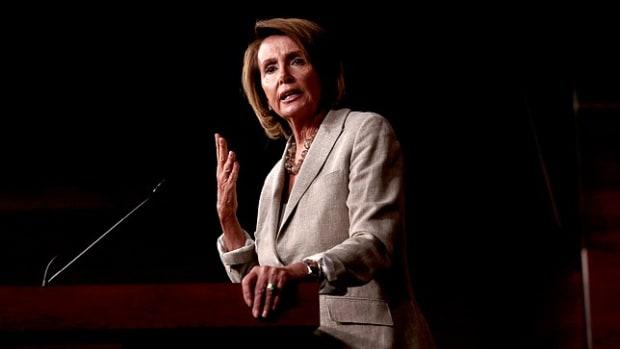 House Minority Leader Nancy Pelosi
