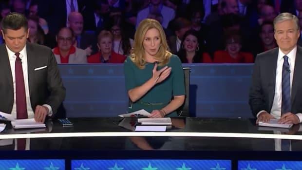 CNBC Moderators at the Republican National Debate