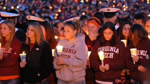Vigil Held For Victims Of 2007 Virginia Tech Shootings