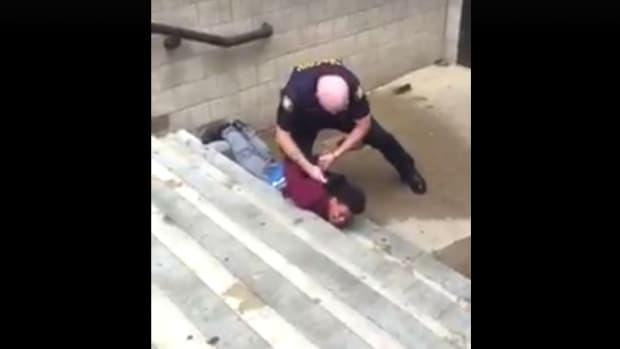 School Cop Criticized For Arrest Of Black Teen (Video) Promo Image